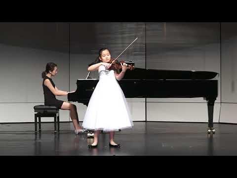 2017香港弦樂紫荊杯大賽 小提琴(高級組) 金獎 舒宇佳