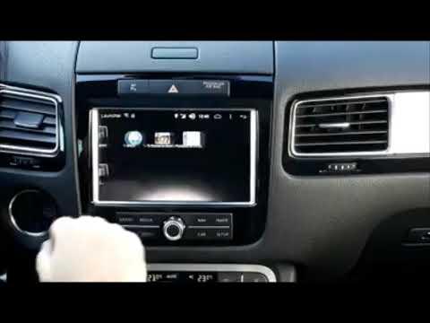Interfata ANDROID pentru RNS850 VW Touareg 7P 2011 - 2018
