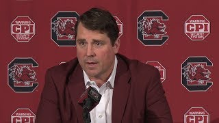 Will Muschamp Weekly News Conference — 11/21/17