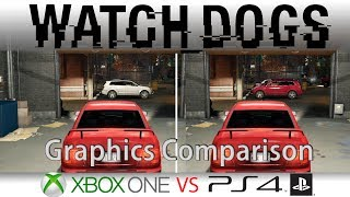 Watch Dogs PS4 / Xbox One Graphics Comparison