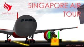 ROBLOX Singapore Air TOUR