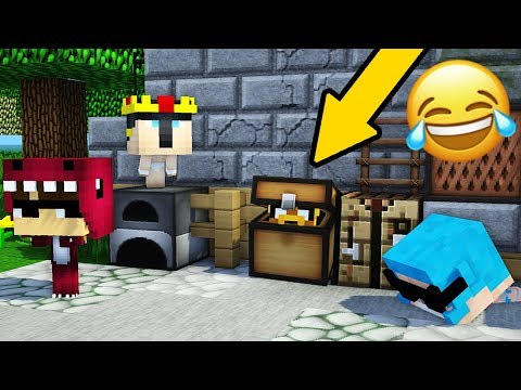 Download Youtube: ¿EL MEJOR ESCONDITE DE MINECRAFT? 😂📦 DENTRO DE UN COFRE | EL ESCONDITE #22