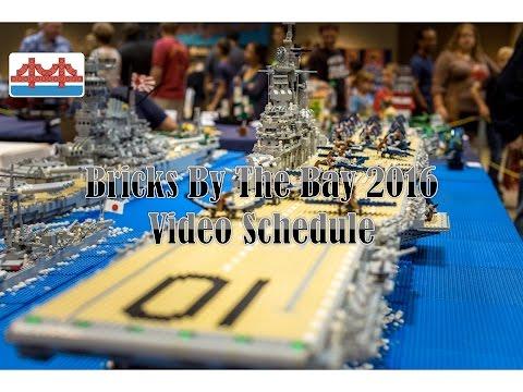 Bricks By The Bay 2016 Video Schedule