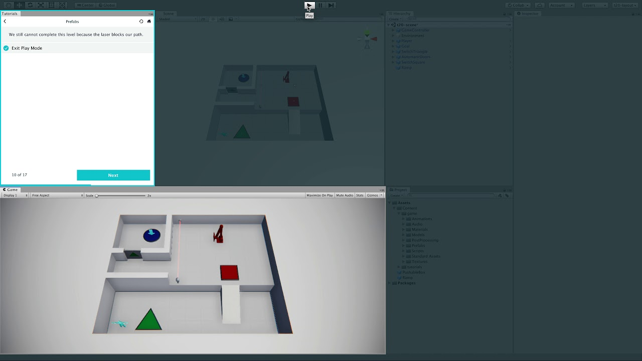 #Unity - Game Development - Unity - Tutorial 4 - Prefab Power Ramping Up