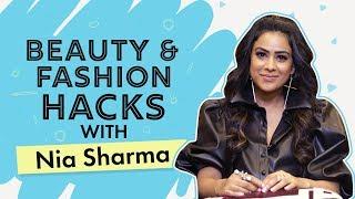 Nia Sharma shares her DIY Beauty Hacks | Naagin 4 | Naagin | Beauty Hacks | Pinkvilla