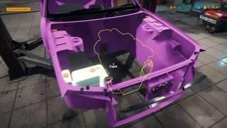 Restoration Garage R34 Skyline Build Part 2 - Car Mechanic Simulator 2018