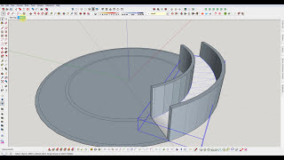Video SketchUp : Build a Semi Circular Ramp download MP3, 3GP, MP4, WEBM, AVI, FLV Desember 2017