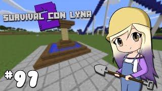 CONSTRUIMOS LA FUENTE DEL PARQUE | Survival con Lyna 2 | Episodio 97