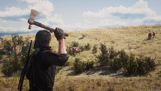 Red Dead Redemption 2: Hunting In The Great Plains