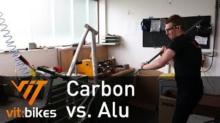 Carbon vs. Alu! der Test! - vit:bikesTV 137