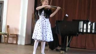 "Anisoara Oboroc(11 лет)""Hora si Oleandra"" B.Dubosarski"