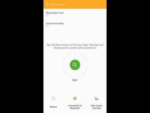 Samsung Gear Fit Health And Gear Manager App Overview