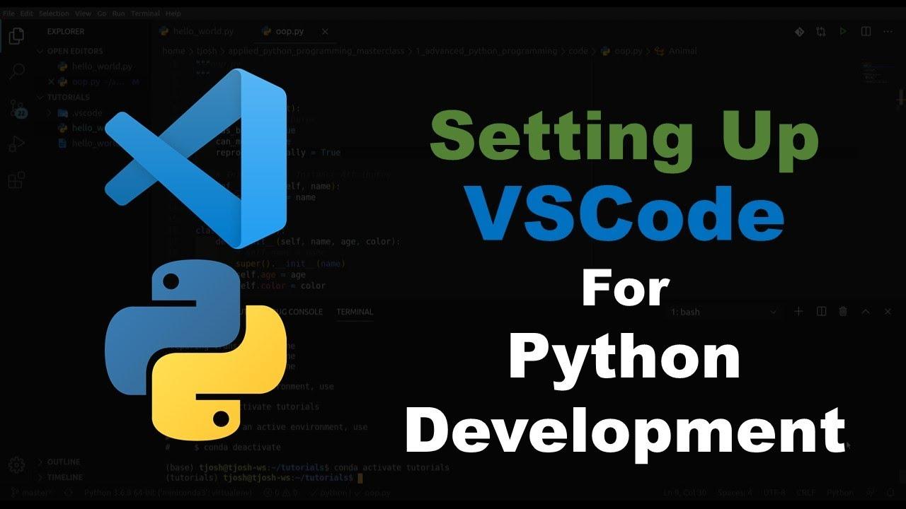Setting Up VSCode for Python Programming