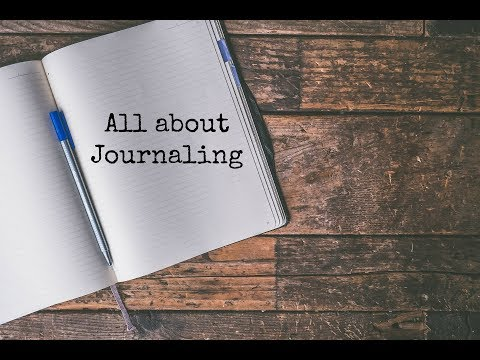 All about Journaling | Therapy Through Writing | How I Journal for Depression and Anxiety