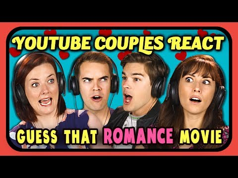 Thumbnail: YOUTUBE COUPLES REACT TO GUESS THAT MOVIE CHALLENGE