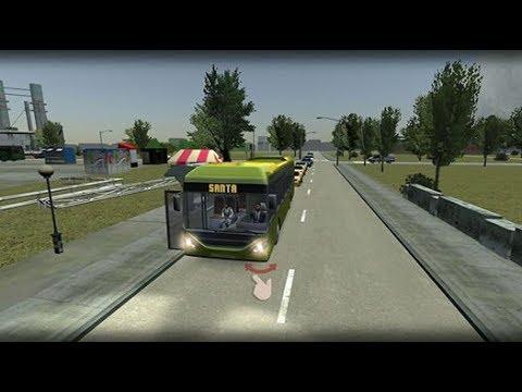 (real mode)Bus Simulator 17.Rio De Janeiro industry level1&2