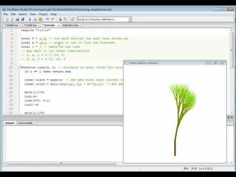 Live coding in Lua