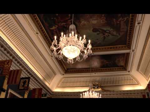 Inside Dublin Castle, Dublin, Ireland