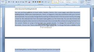 Lecture No 3 Paragraph Ms Word 2007 Computer Training in Urdu