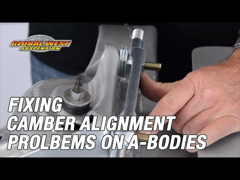 Fixing Camber Alignment Problems On Chevelle Gtos Old Cutlass