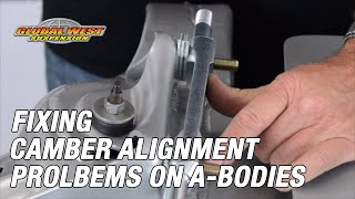 Gambar cover Fixing Camber Alignment problems on Chevelle, GTO's Old Cutlass, Buick GS, and other A-Bodies