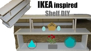 IKEA Hack| Shelf DIY| Book case | Shoe rack | Golden Poise
