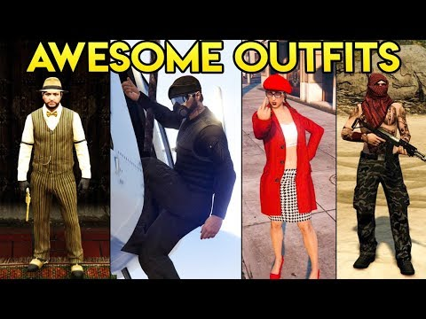 GTA Online FASHION FRIDAY (A Pirate, Special Ops Mk 2, Wannabe Rapper & More)