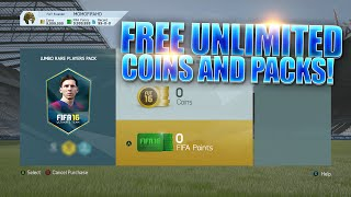 FIFA 16 - HOW TO OPEN UNLIMITED PACKS FOR FREE !!!