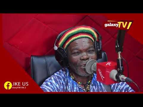 Jamaican legendary star Eric Donardson, in Uganda for a Reggae Festival