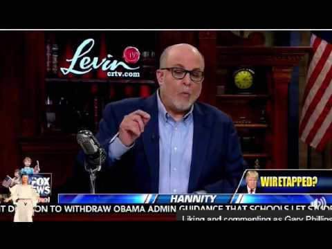 Sean Hannity and Mark Levin Discus Obamas Police State Actions