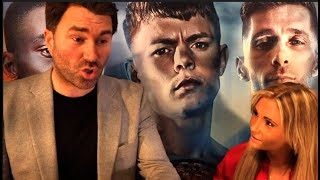 'I HAD 3 FIGHTS, I WAS USELESS. DAD SENT ME THERE TO GET BASHED UP' -EDDIE HEARN & SHANNON COURTENAY