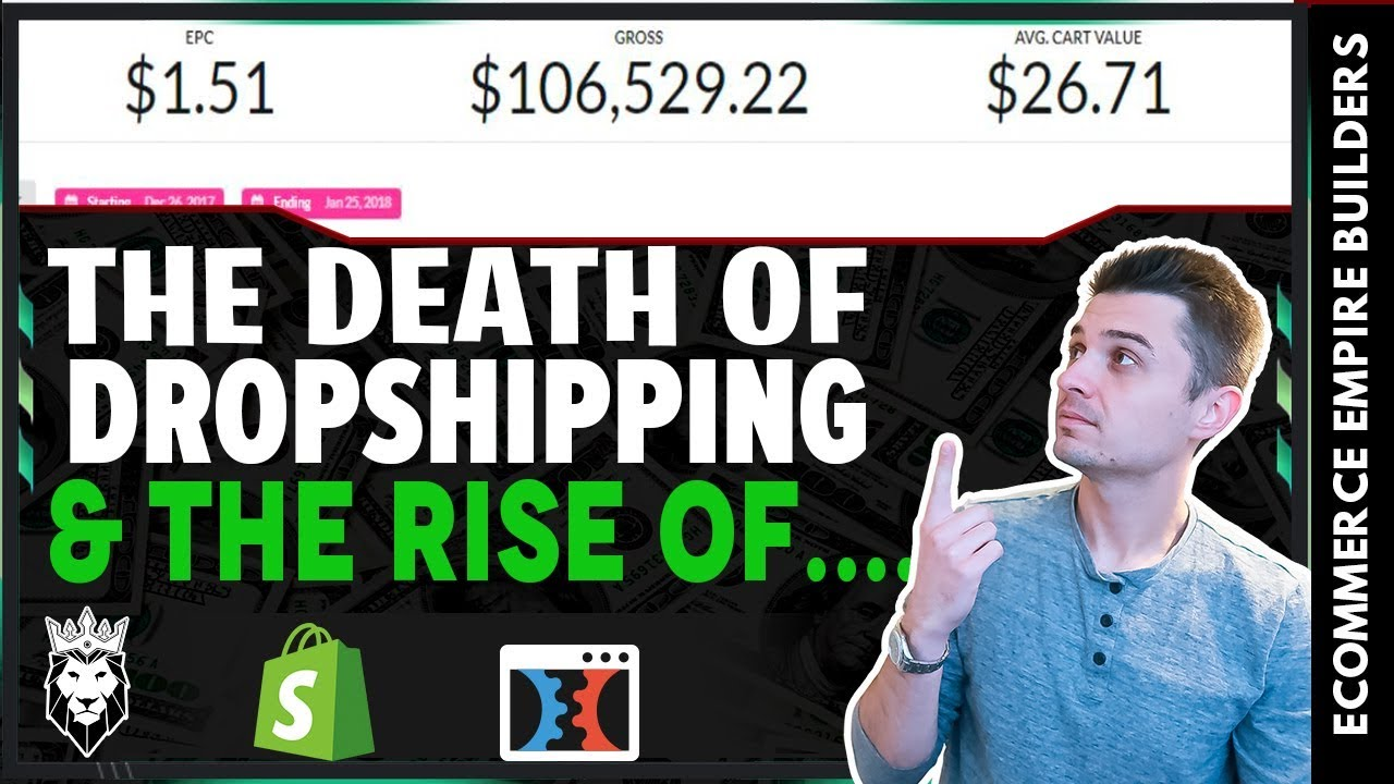 The DEATH Of Shopify Dropshipping & The RISE Of Subscription Sales Funnels...