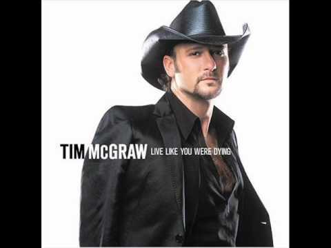 Tim McGraw - Just Be Your Tear. W/ Lyrics