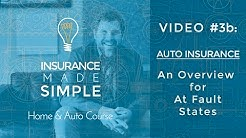 How Auto Insurance Works - At Fault States