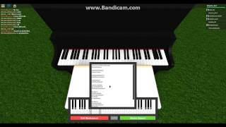 Dis quelque chose. Piano Roblox! :D (Notes en desc)