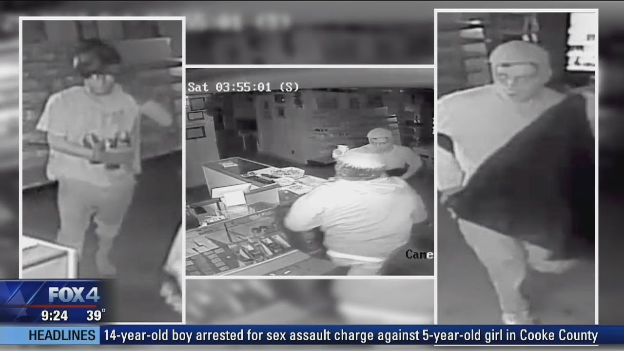 Trackdown: Help find Nevada store thieves