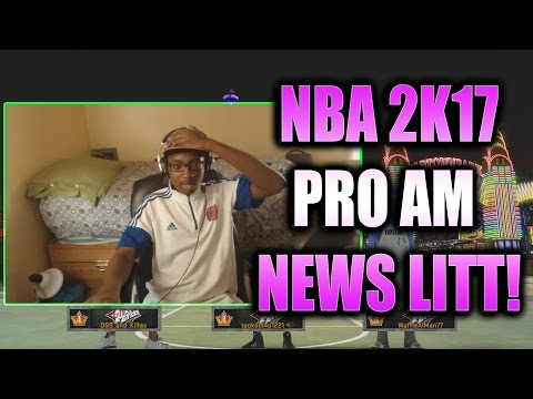 NBA 2K17 REP ADDED TO PRO AM!! NEW SYSTEM! ALL-STAR TOURNAMENT!