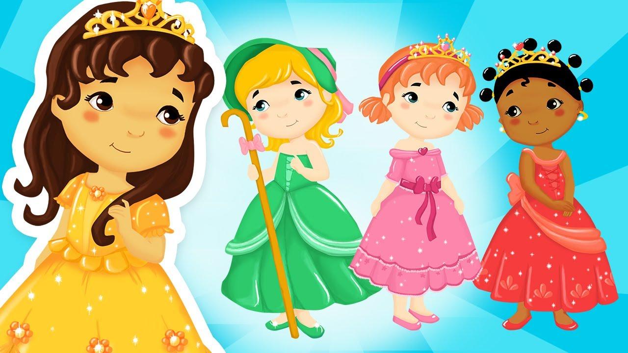 Comptines des Princesses | Les marches du Palais | Bébé Enfant | Titounis