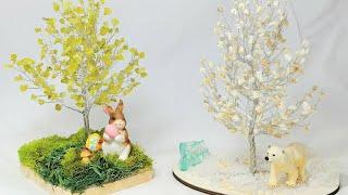 Мастер класс Дерево счастья из камней Часть 1. Веточки. Фен Шуй