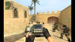 Counter Strike Source: VS BOT ( Expert )