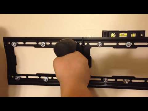 How to wall mount a TV with no Studs! Drywall / Sheetrock