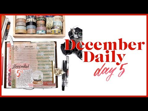 December Daily Day 5 | Journal with Me