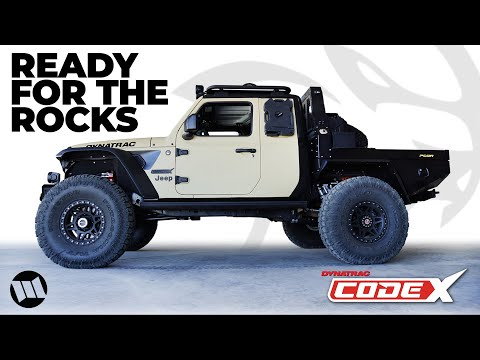 Jeep Gladiator Truck 2 Door Extra Cab Overland on 40 Inch Tires with a HELLCAT HEMI - DYNATRAC CODEX
