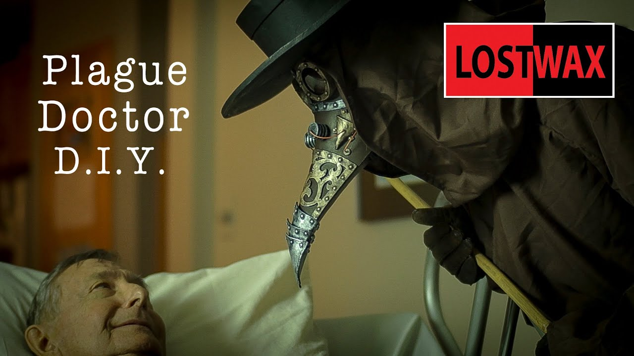 Diy Steampunk Plague Doctor Mask And Pattern How To Make It From