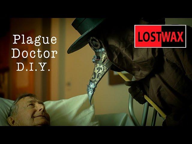 Steampunk Plague Doctor Hat