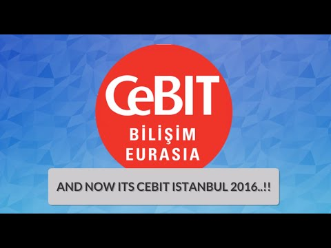 CeBIT Bilisim Eurasia 2016 - Software Development Services