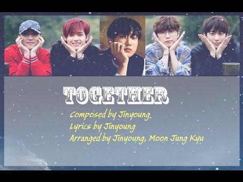 B1A4 (ft. BANA) together(함게) lyrics colour coded (Eng/Roman/Han)