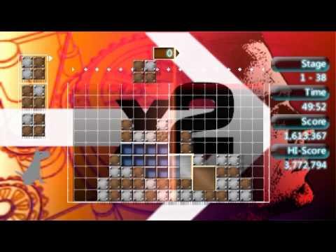 "Lumines II - Challange mode ""Enduro"""