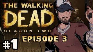 LOCKED UP - The Walking Dead Season 2 Episode 3 IN HARMS WAY Walkthrough Ep.1