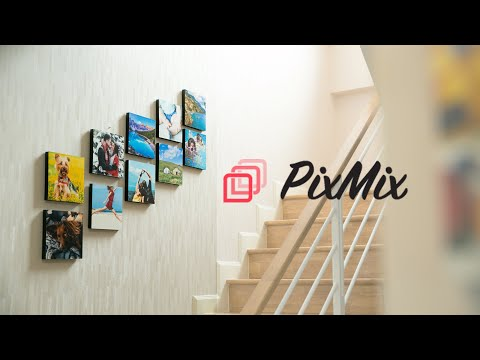 PixMix - มาสร้างสรรค์ไอเดียบนผนังด้วยรูปภาพของคุณกันเถอะ!